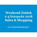 Halloweenowy Weekend Zniżek z Sales & Shopping w dniach 2-4 listopada 2018