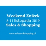 Długi Weekend Zniżek z Sales & Shopping w dniach od 8 do 11 listopada 2019