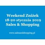 Weekend Zniżek z Sales & Shopping w dniach 18-20 stycznia 2019