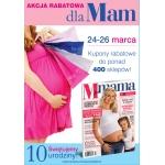 Weekend Zniżek dla mam i kobiet w ciąży z magazynem M jak Mama 24-26 marca 2017