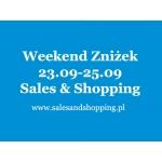 Weekend Zniżek z Sales & Shopping 23-25 września 2016