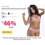 Wyprzedaże Bielizny: do 46% zniżki na bieliznę bestsellerowych marek