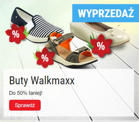 Top Shop: wyprzedaż do 50% rabatu na obuwie damskie i męskie marki WALKMAXX
