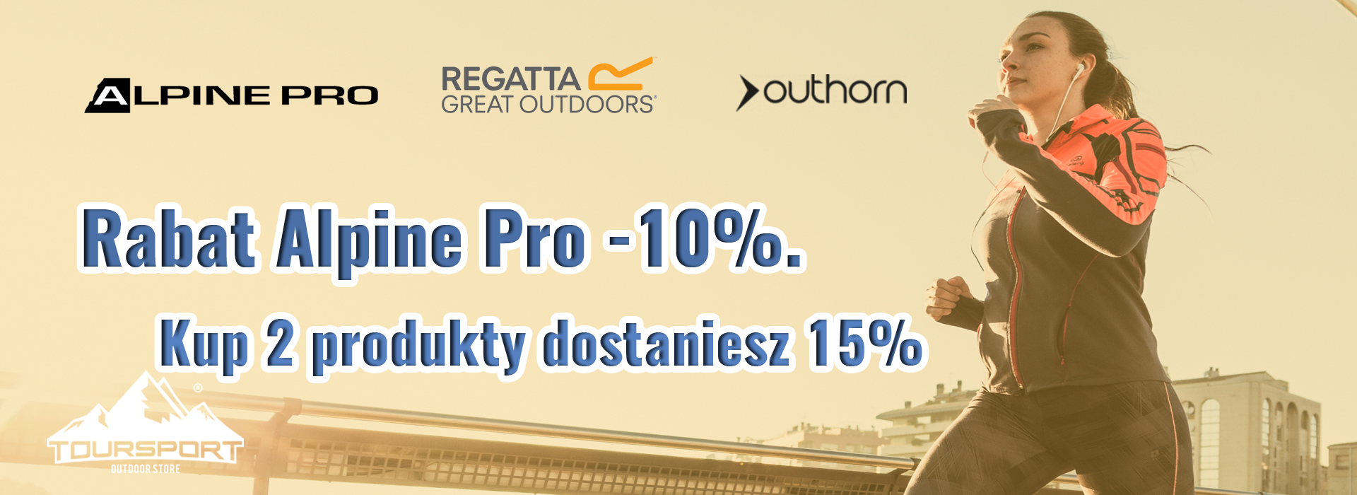 TourSport: 10% rabatu na obuwie sportowe i dodatki, 15% na 2 produkty