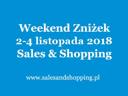 Halloweenowy Weekend Zniżek z Sales & Shopping w dniach 2-4 listopada 2018                         title=