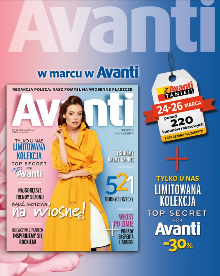 Weekend Zniżek z Avanti, Logo i Wysokie Obcasy 24-26 marca 2017