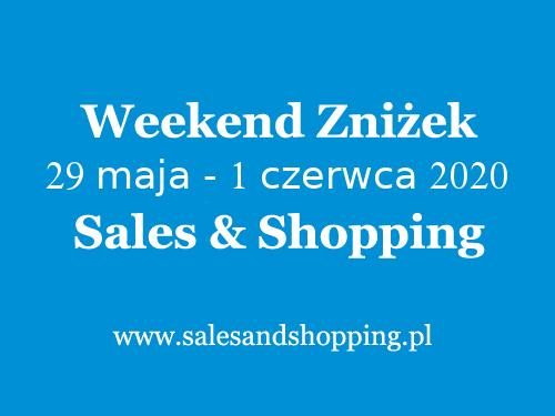 Weekend Zniżek z Sales & Shopping w dniach 29 maja - 1 czerwca 2020 - Dzień Dziecka                         title=