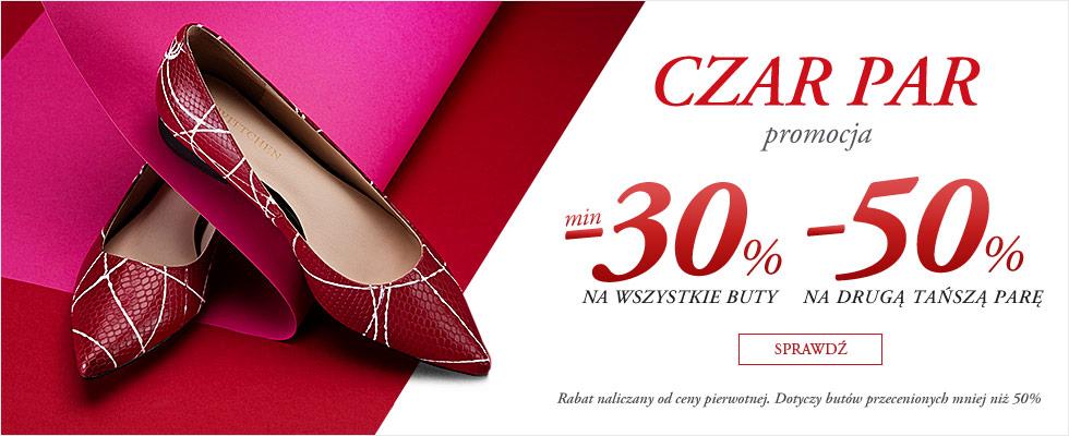 Wittchen:  min. 30% zniżki na wszystkie buty i 50% rabatu na drugą parę