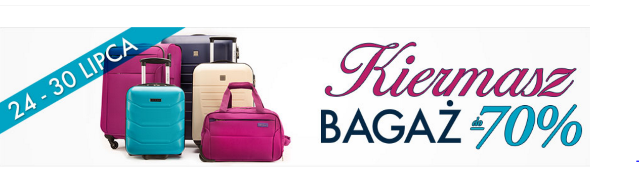 Wittchen: wyprzedaż do 70% rabatu na bagaż - walizki podróżne oraz akcesoria do bagażu                         title=