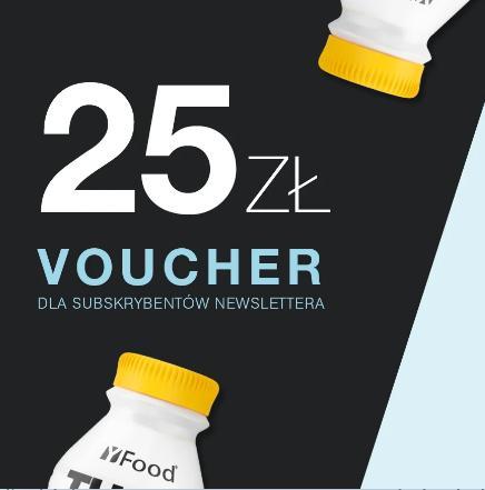 YFood: 25 zł zniżki na zdrowe jedzenie i napoje przy zapisie do newslettera