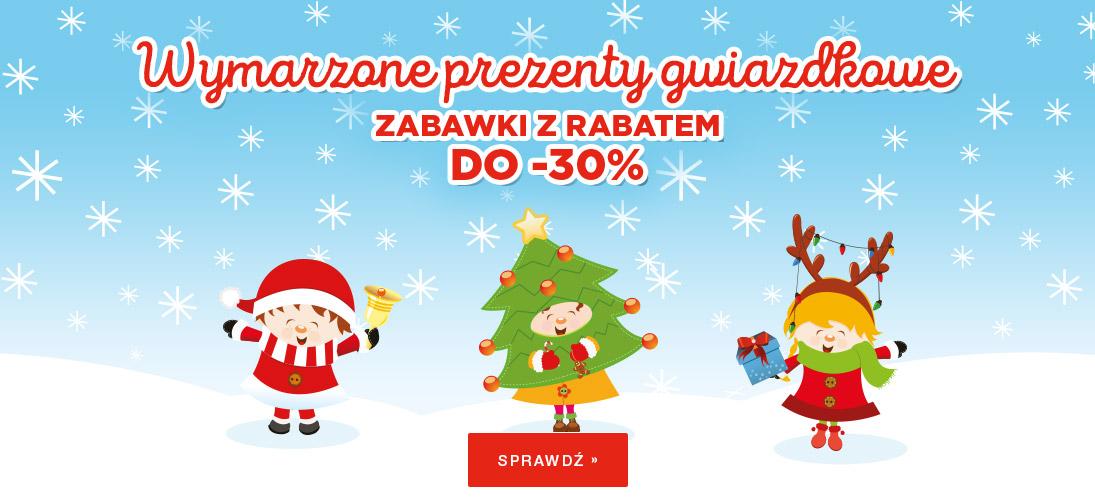 BDDziecko: do 30% zniżki na zabawki - prezent na Mikołaja                         title=